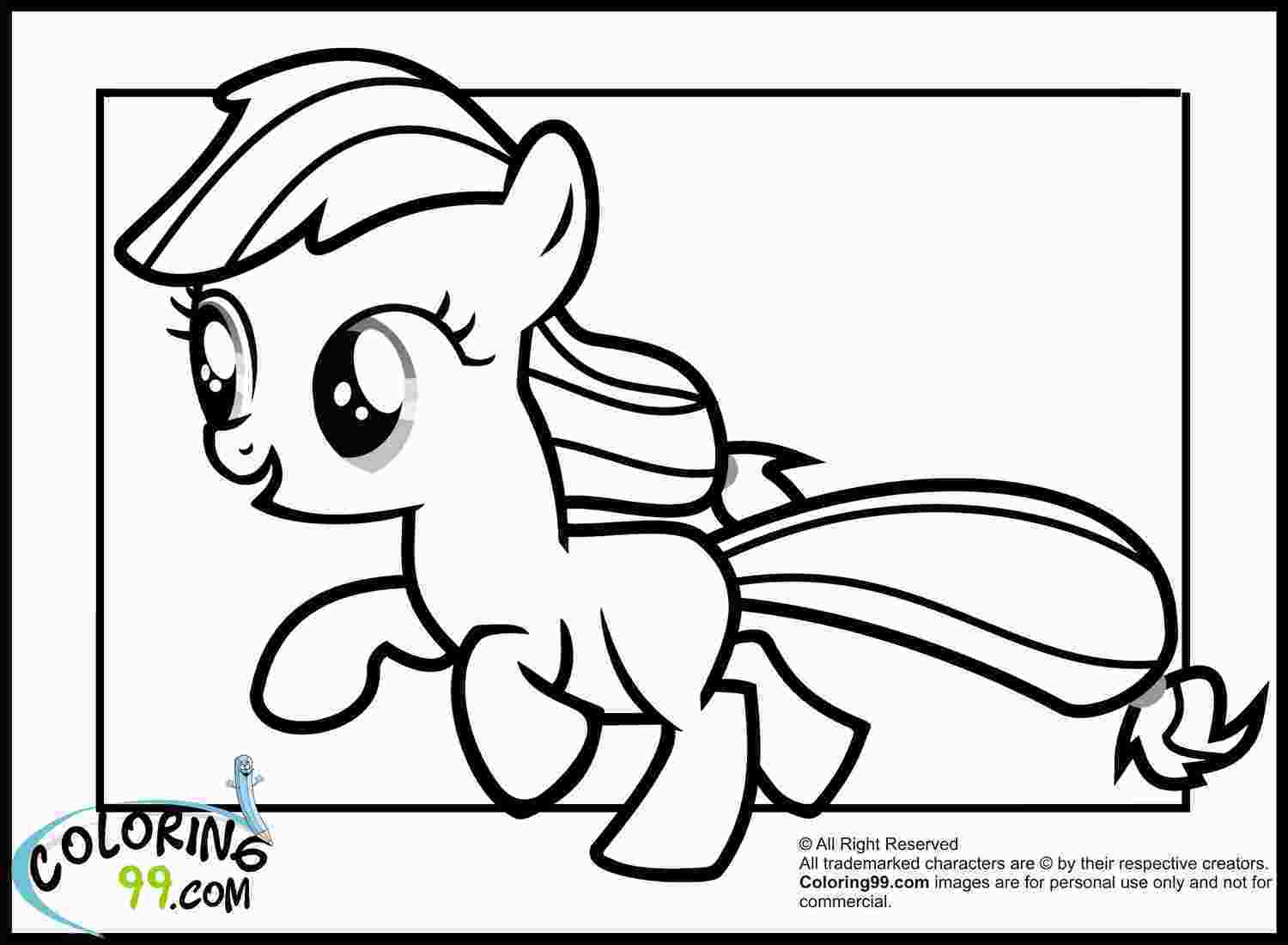 coloring baby jack jack my little pony applejack coloring pages team colors
