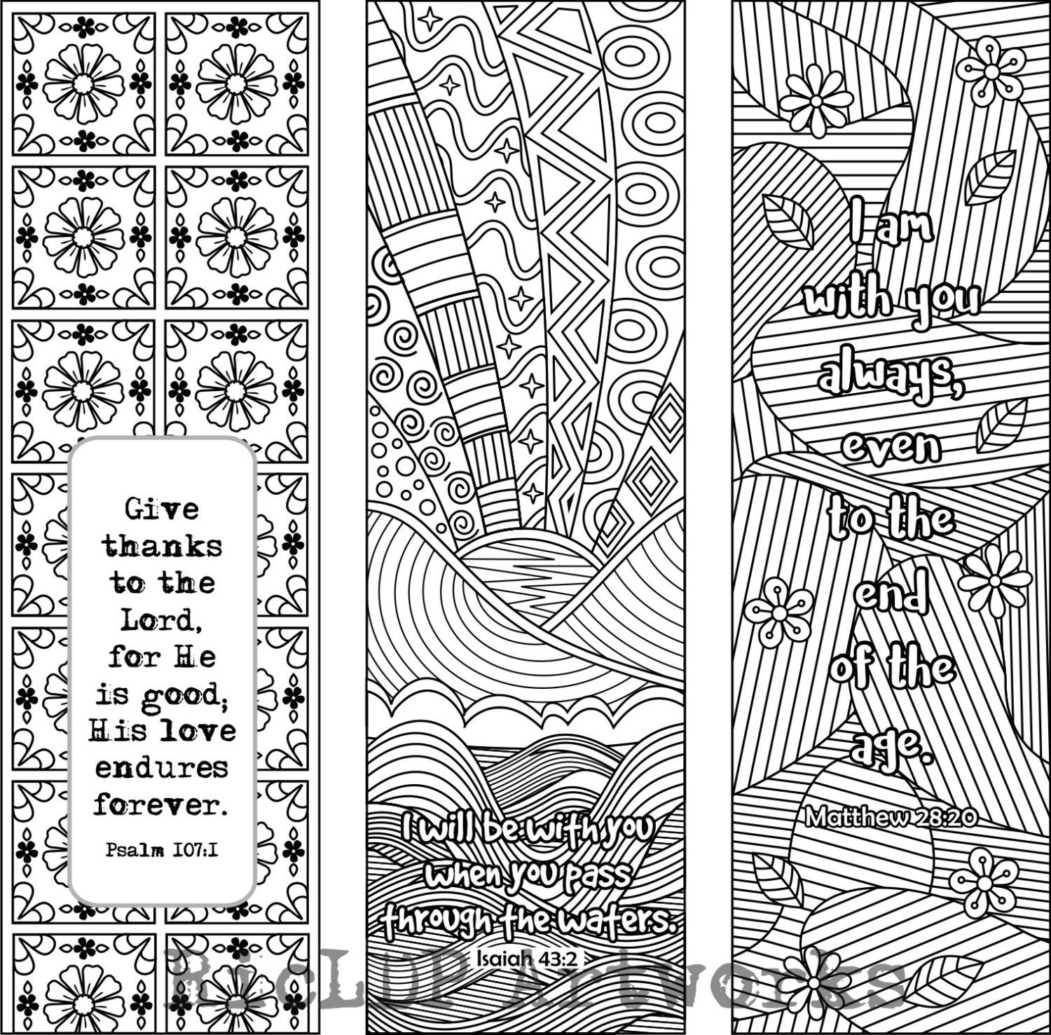 coloring bible verse bookmark 6 bible verse coloring bookmarks plus 3 designs by bookmark verse coloring bible