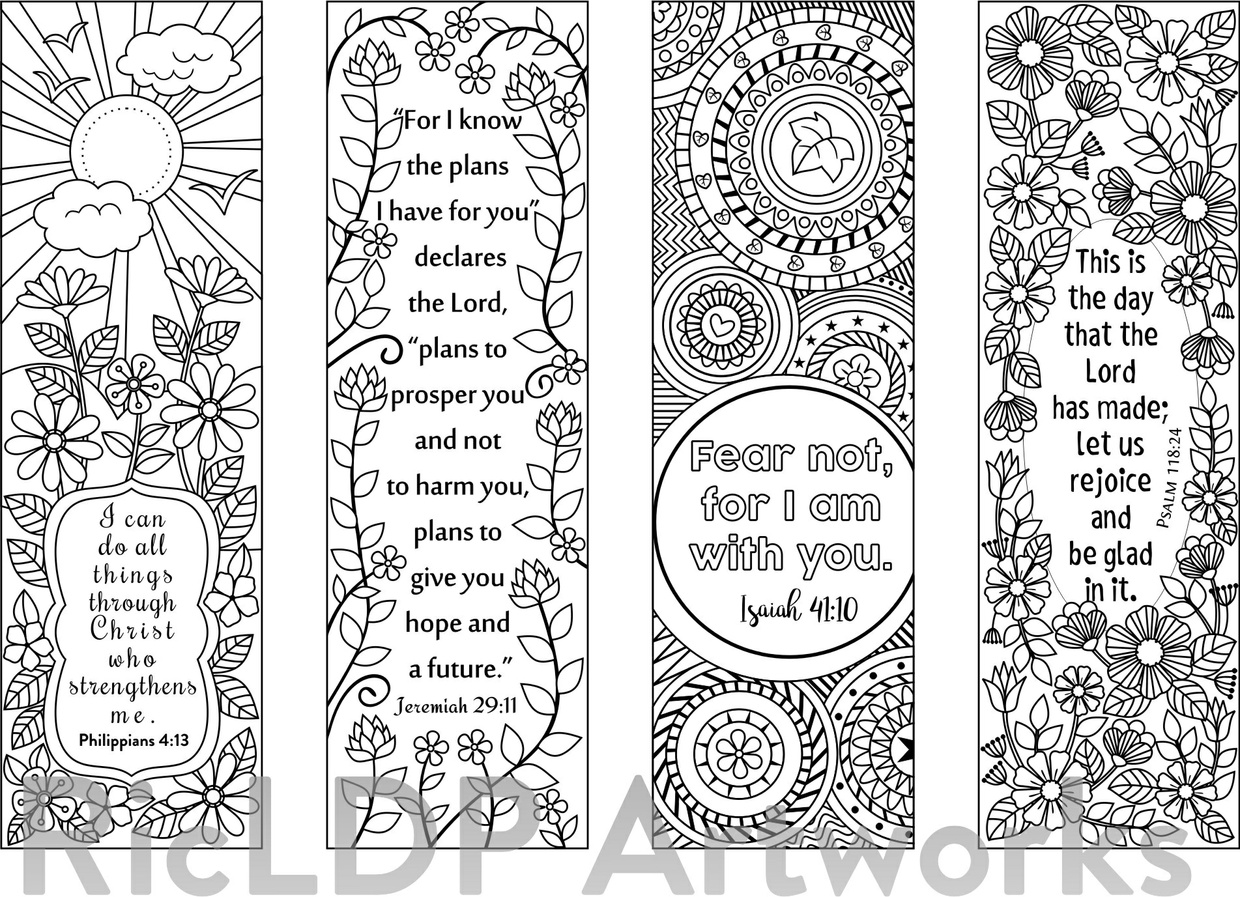 coloring bible verse bookmark 8 bible verse coloring bookmarks ricldp artworks coloring bookmark bible verse