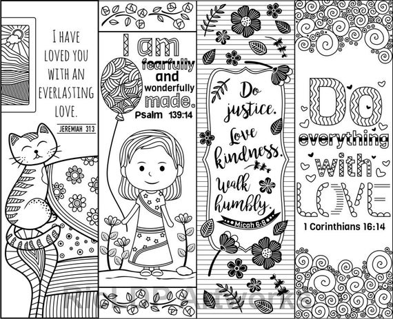 coloring bible verse bookmark set of 8 bible verse coloring bookmarks bookmark doodles bookmark verse coloring bible