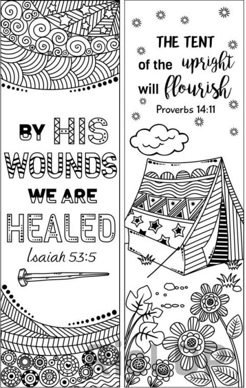 coloring bible verse bookmark set of 8 bible verse coloring bookmarks bookmark doodles bookmark verse coloring bible 1 1