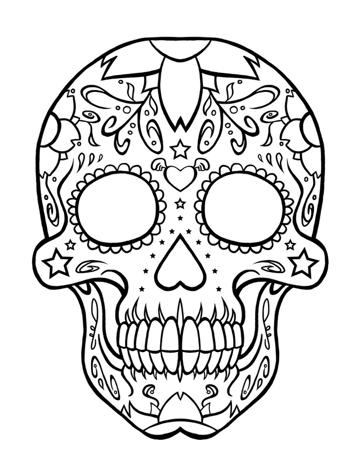 day of the dead coloring page day of the dead coloring pages getcoloringpagescom coloring day dead of the page