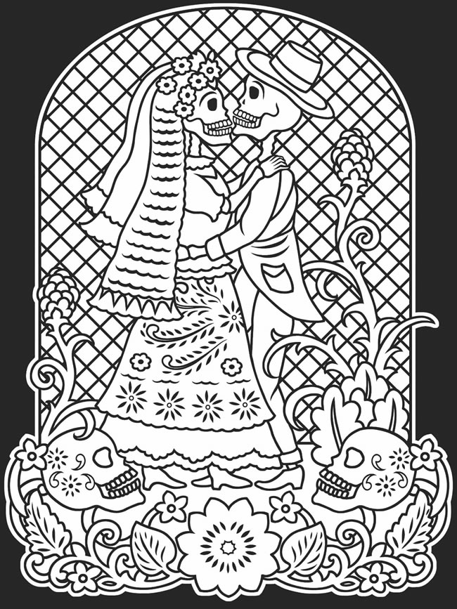 day of the dead coloring page day of the dead skull coloring pages bestofcoloringcom dead day of the page coloring