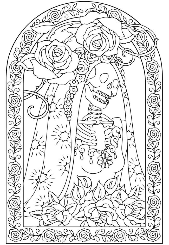 day of the dead coloring page free printable day of the dead coloring pages best of page day dead coloring the