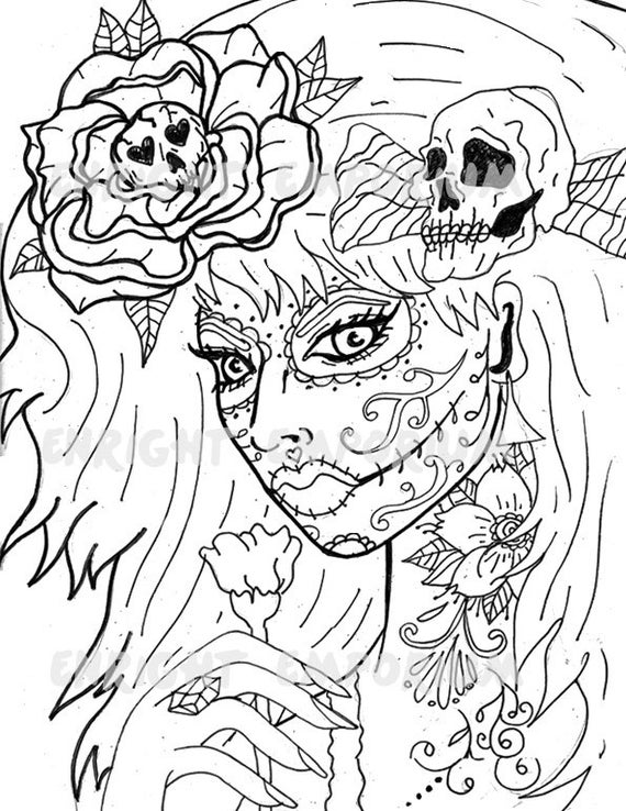 day of the dead coloring sheets day of the dead coloring book by thaneeya mcardle dead the day sheets of coloring