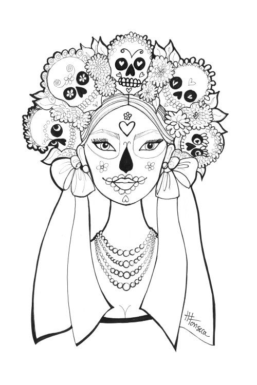 day of the dead coloring sheets day of the dead coloring pages by heather fonseca coloring of sheets the dead day