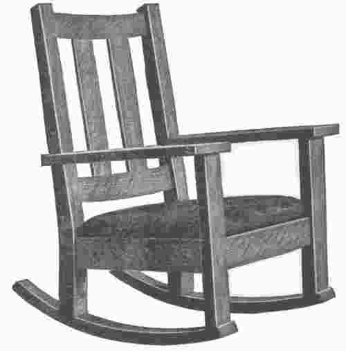 how to draw a rocking chair a rocking chair