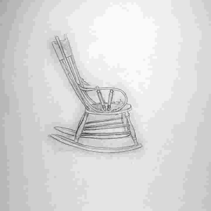 how to draw a rocking chair byuh drawing rocking chair 3