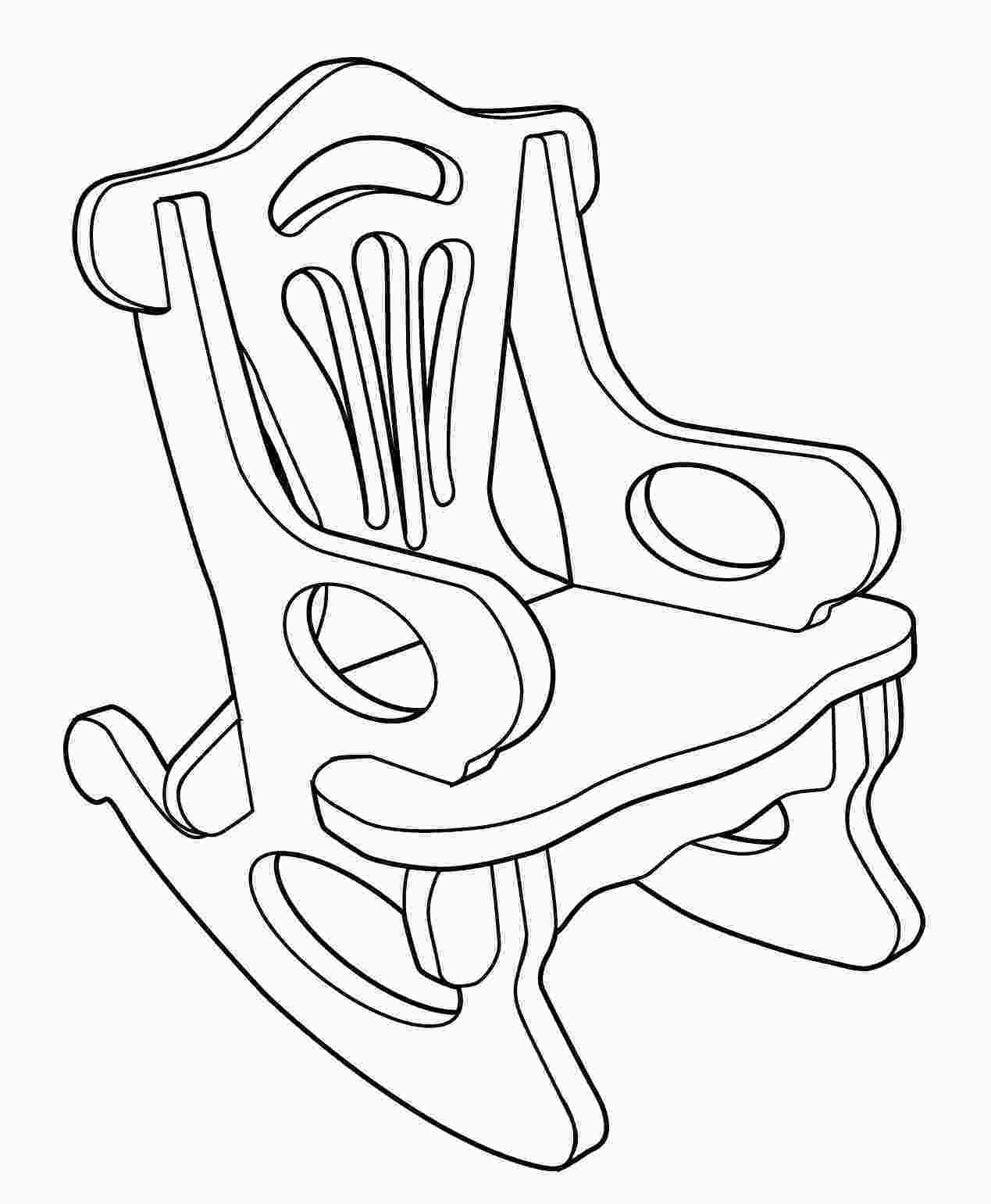 how to draw a rocking chair waynes projects the art of paul bunch