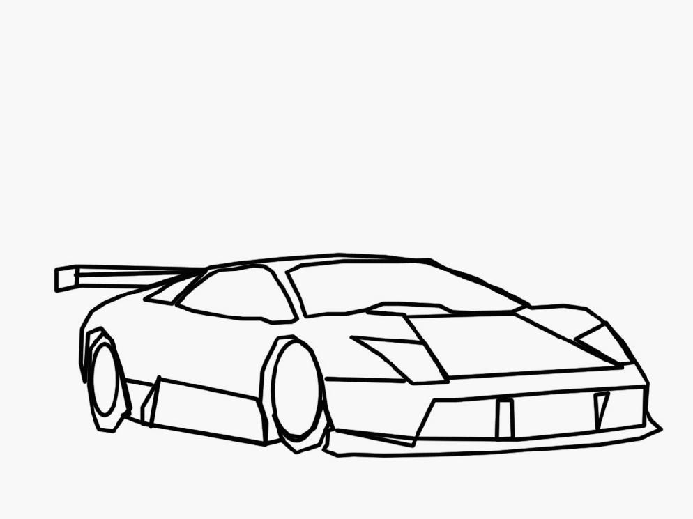 lamborghini murcielago coloring pages lamborghini huracan coloring pages side view coloring4free coloring murcielago pages lamborghini