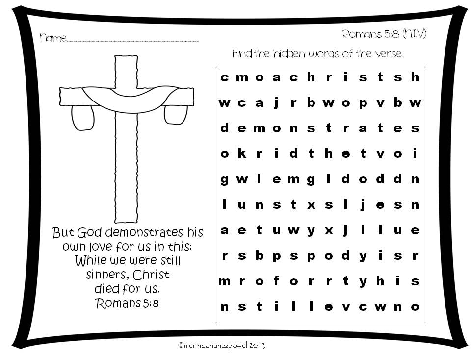 romans 5 8 coloring sheet 1000 images about memory verse coloring sheets on romans 8 5 sheet coloring