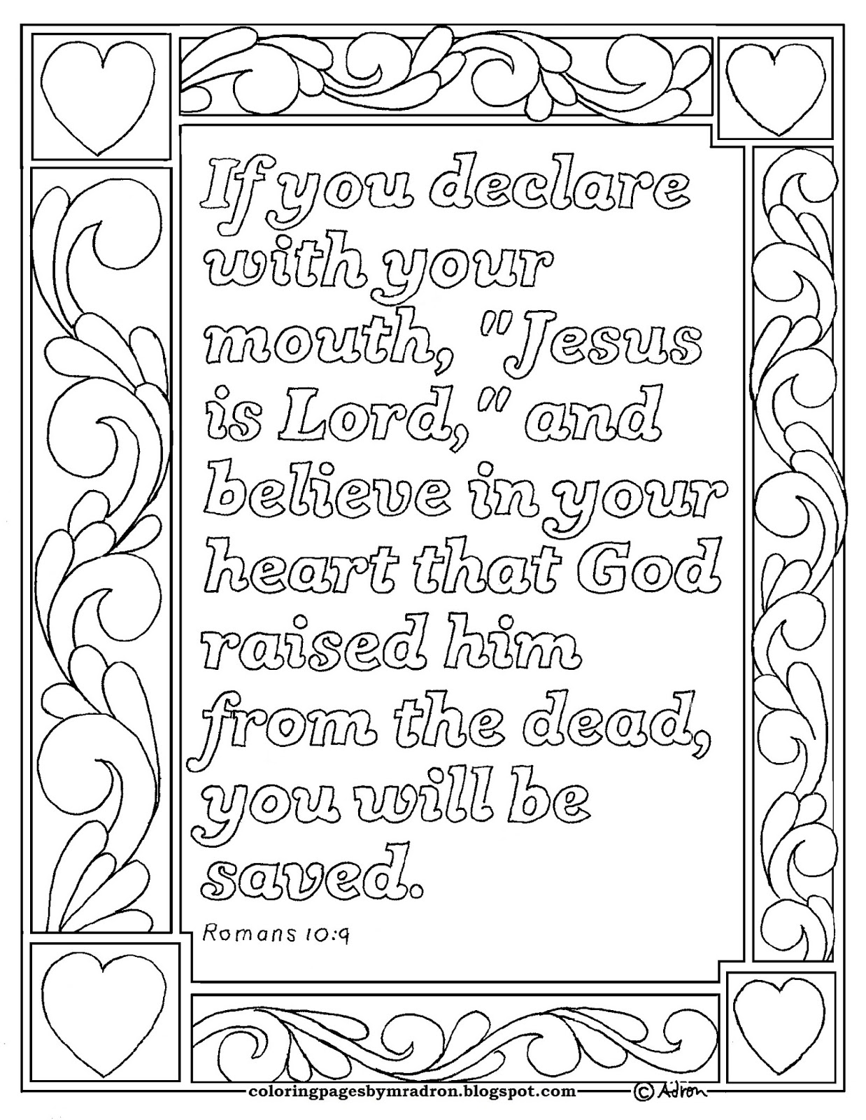 romans 5 8 coloring sheet coloring pages for kids by mr adron in everything god sheet romans 5 coloring 8