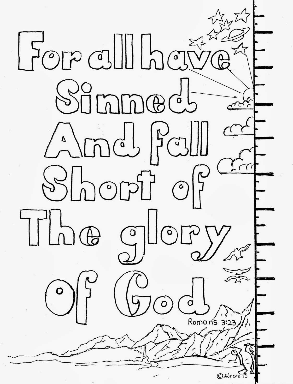 romans 5 8 coloring sheet pin by adron dozat on coloring pages for kid printable romans 5 8 sheet coloring