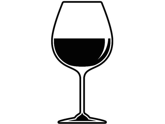 wine glass silhouette wine glass 4 winery wineglass bottle vine drink drinking wine glass silhouette