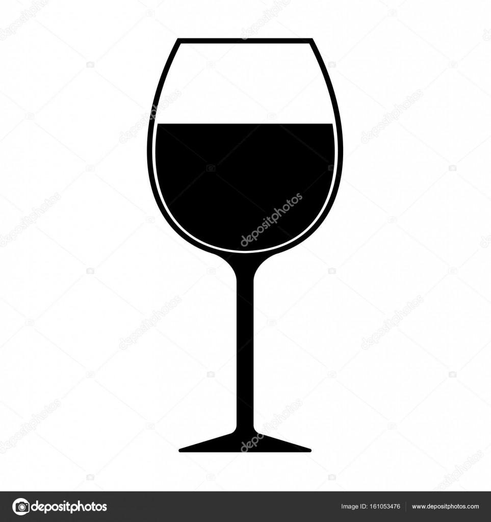 wine glass silhouette wine glass silhouette icon vector isolated stock vector wine silhouette glass