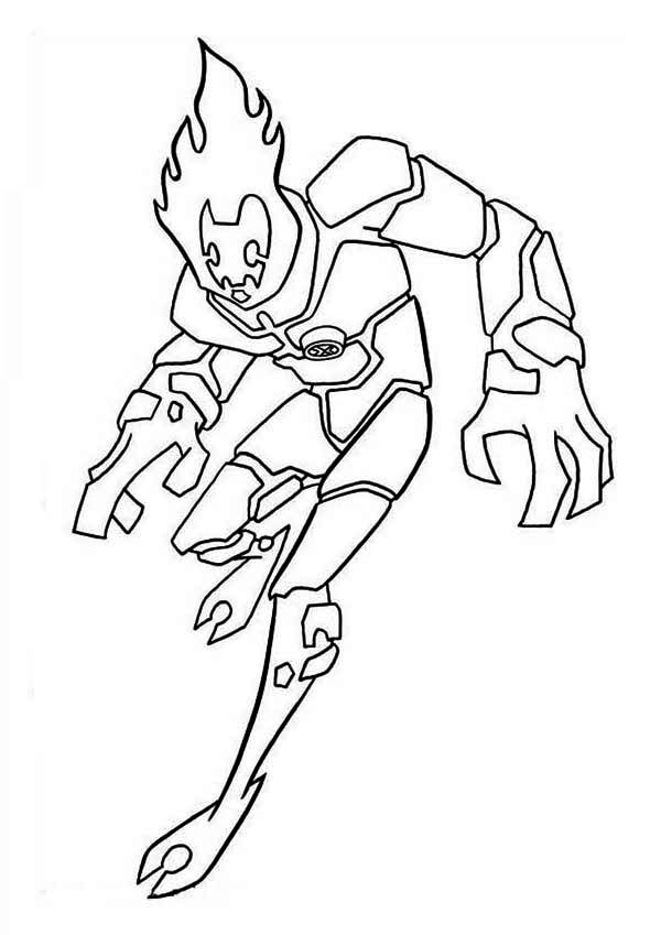 ben 10 print ben 10 coloring pages 20 free printable for little ones ben 10 print