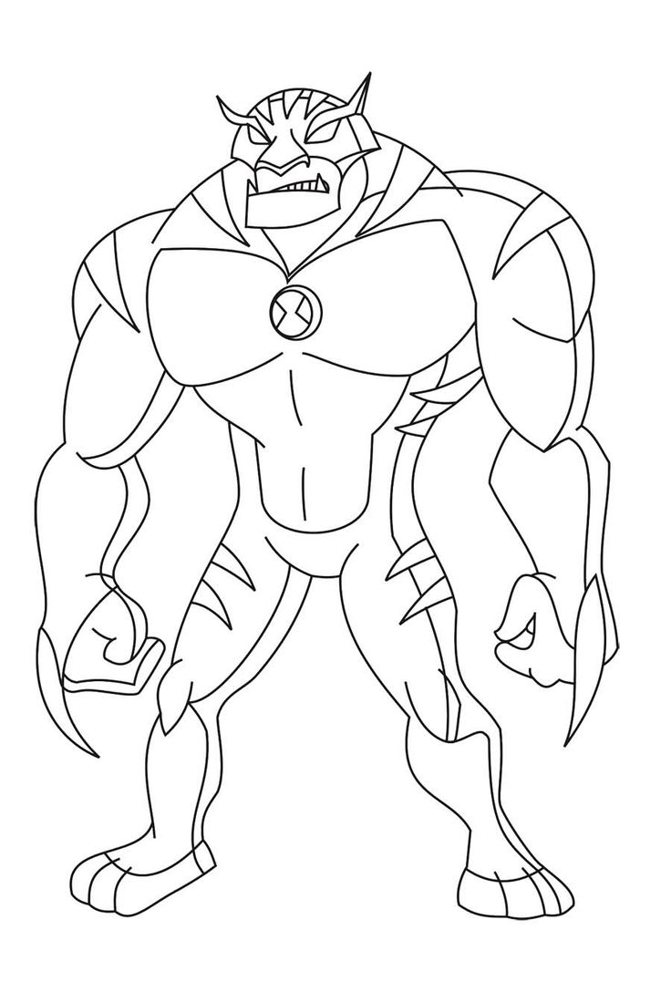 ben 10 print ben 10 coloring pages coloring pages for kids coloring ben 10 print