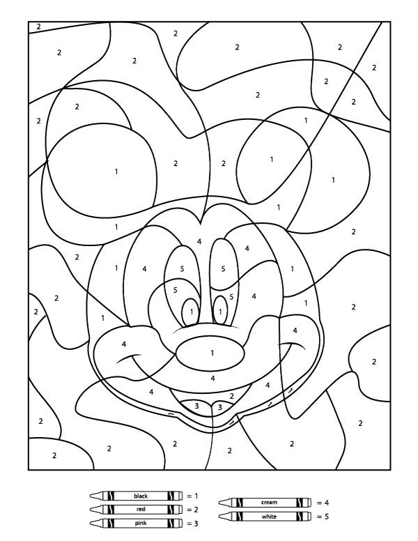color by number printable free printable color by number coloring pages best color by printable number