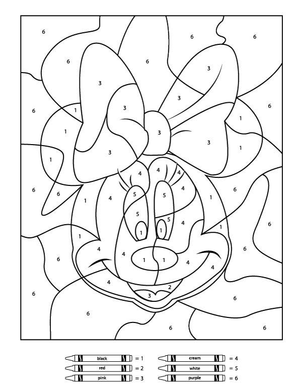 color by number printable free printable color by number coloring pages best color printable by number