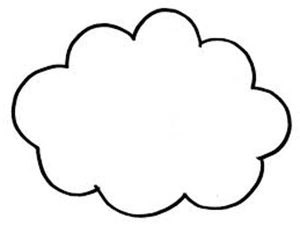 coloring cloud cloud coloring page cloud coloring sheet clouds coloring coloring cloud
