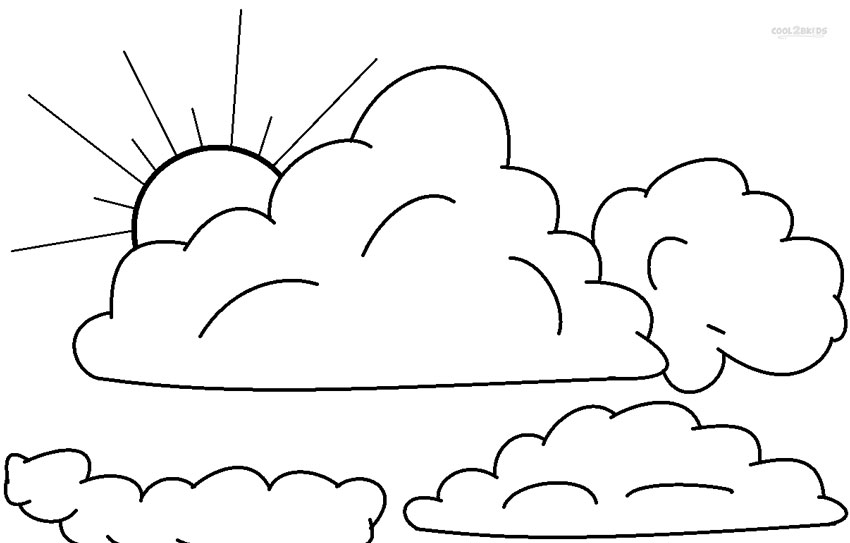 coloring cloud cloud coloring pages to print toddler activities pinterest cloud coloring