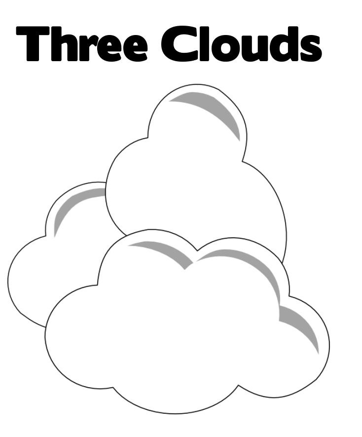 coloring cloud clouds coloring pages for kids coloring home cloud coloring
