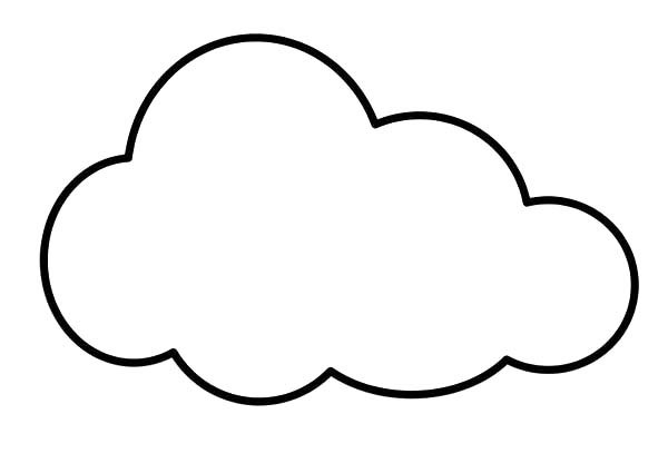 coloring cloud cute cloud coloring book by uroesch cute cloud for cloud coloring