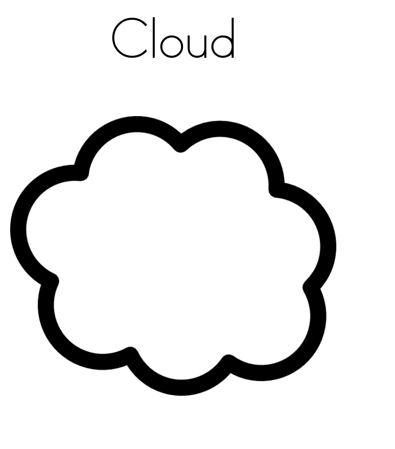coloring cloud free printable cloud coloring pages for kids cloud coloring
