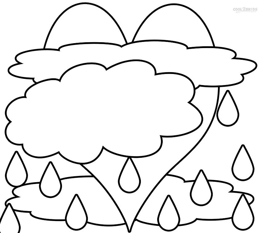 coloring cloud free printable cloud coloring pages for kids cloud coloring 1 3