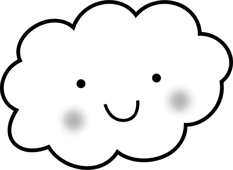 coloring cloud free printable cloud coloring pages for kids coloring cloud