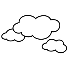 coloring cloud free printable cloud coloring pages for kids coloring cloud 1 3
