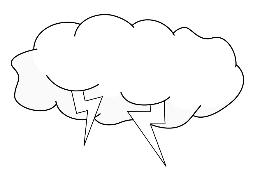 coloring cloud how to draw a clouds coloring page netart coloring cloud