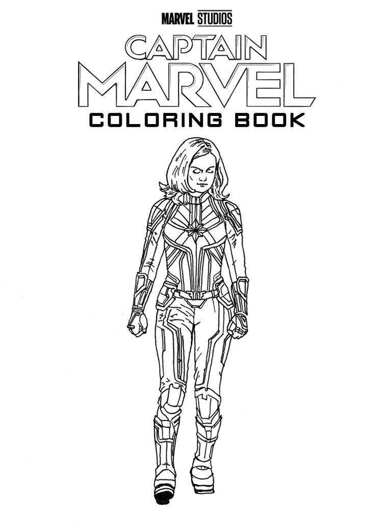 marvel captain marvel coloring pages hey kids now you too can color your very own captain pages marvel coloring marvel captain