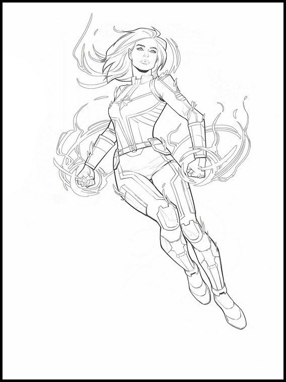 marvel captain marvel coloring pages marvel coloring pages kidsuki pages marvel marvel captain coloring