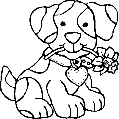 pictures to colour of dogs printable dog coloring pages for kids cool2bkids colour of pictures dogs to