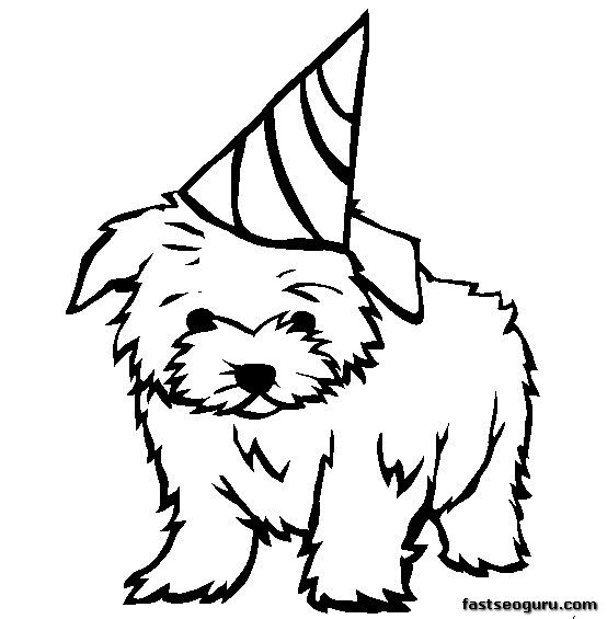 pictures to colour of dogs printable puppy coloring pages for kids cool2bkids to pictures dogs of colour