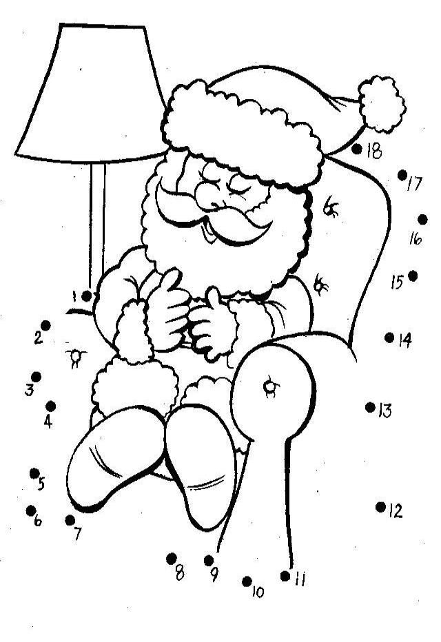santa dot to dot 437 best images about christmas math activities on santa to dot dot