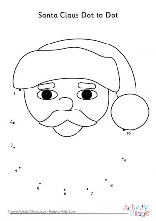 santa dot to dot free vector santa claus with gifts dot to dot printable dot to santa dot