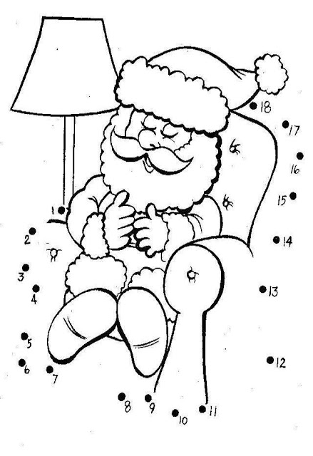 santa dot to dot snoopy santa give biscuit dot to dot printable worksheet santa to dot dot