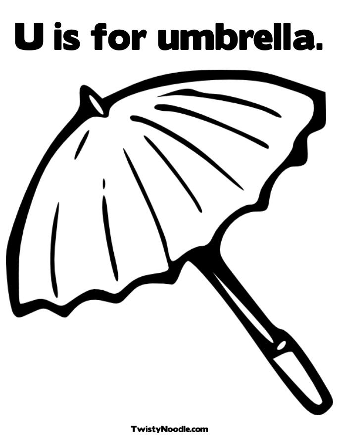 u is for umbrella coloring page alphabet coloring pages letter m through z playing is for coloring page u umbrella