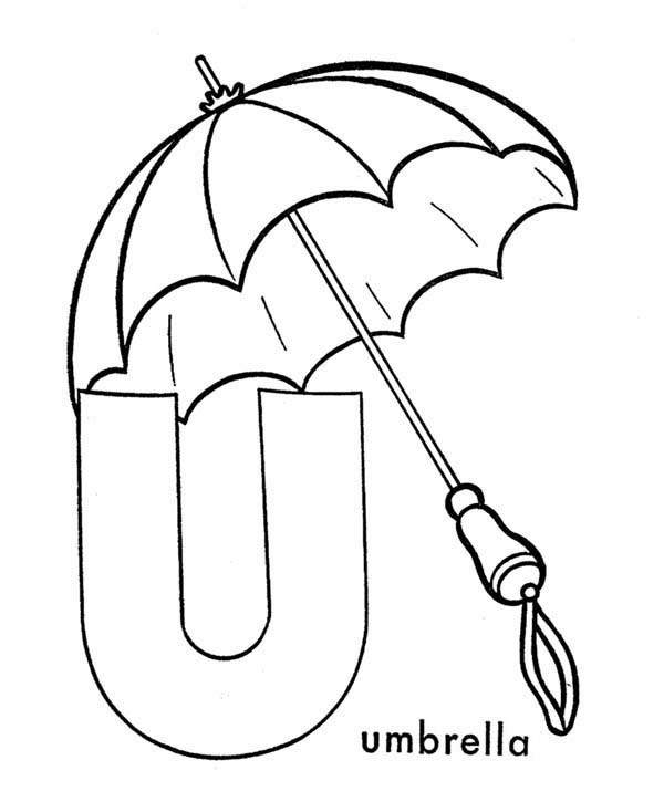 u is for umbrella coloring page u is for umbrella book twisty noodle u page is for coloring umbrella