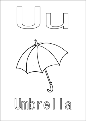 u is for umbrella coloring page u is for umbrella coloring page is umbrella for page coloring u