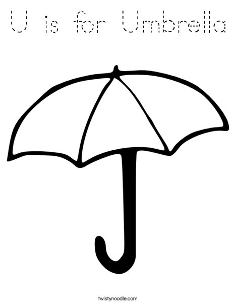 u is for umbrella coloring page u is for unicorn coloring page free printable coloring pages is coloring page umbrella u for