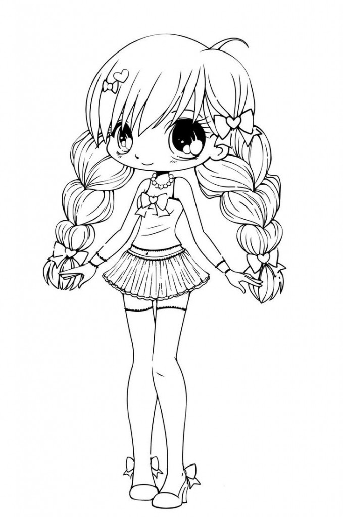 chibi anime coloring pages chibi coloring pages to download and print for free pages anime chibi coloring 1 1