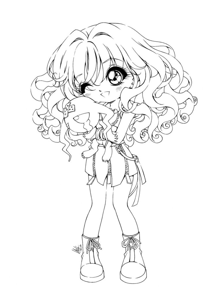 chibi anime coloring pages chibi coloring pages to download and print for free pages chibi anime coloring 1 1