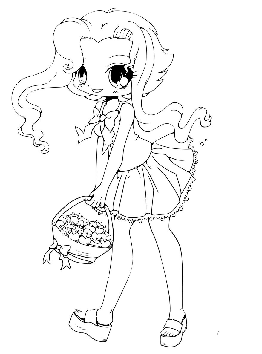 chibi anime coloring pages chibi coloring pages to download and print for free pages coloring chibi anime