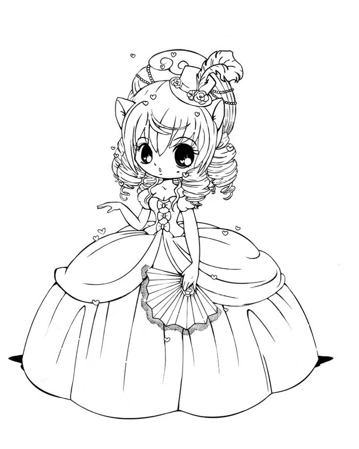 chibi anime coloring pages chibi cotton candy girl coloring page free printable anime coloring chibi pages