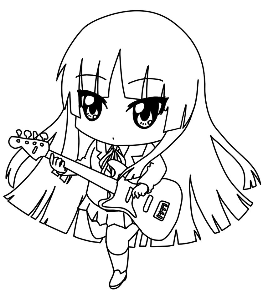 chibi anime coloring pages cute chibi coloring pages anime coloring chibi pages