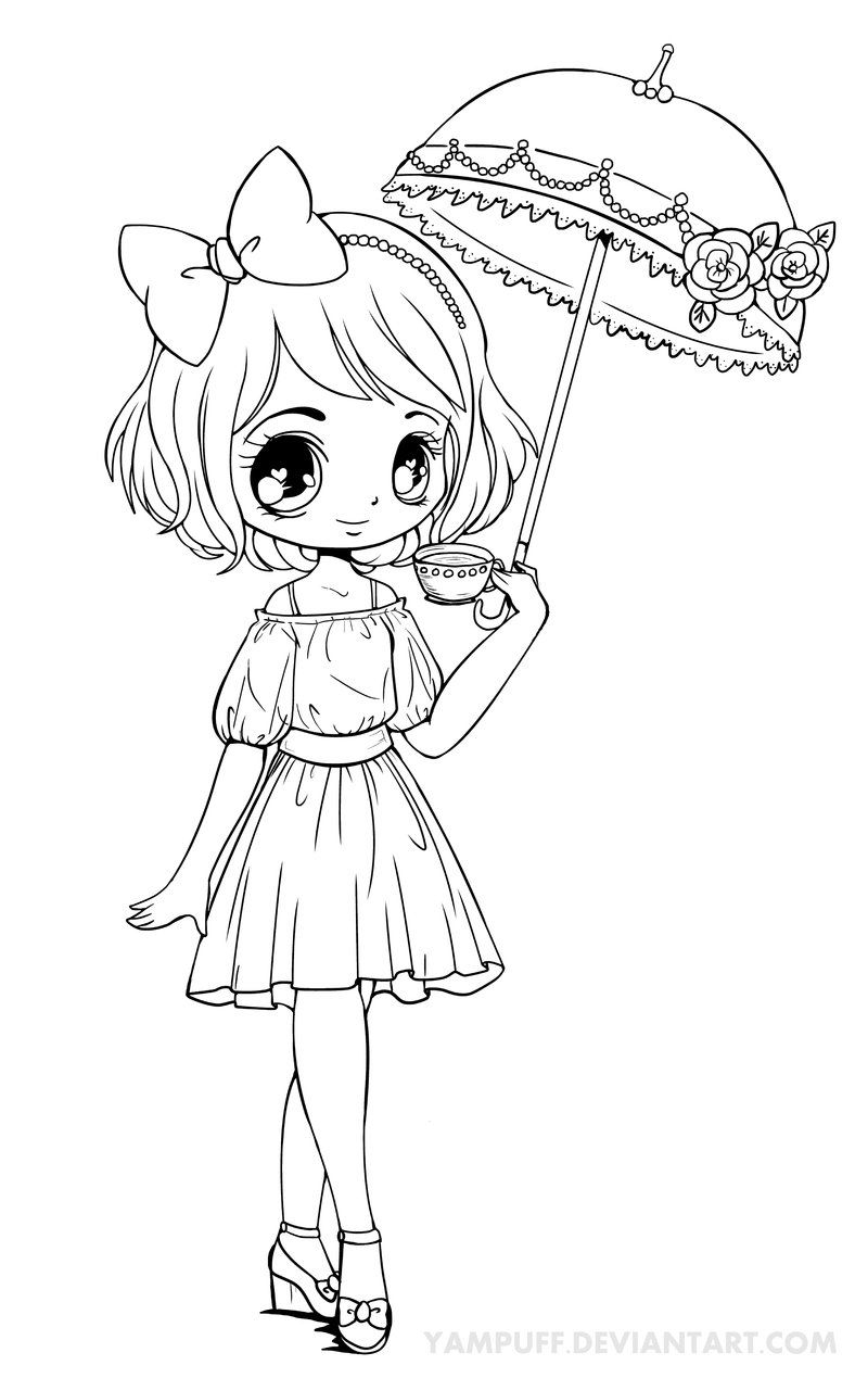 chibi anime coloring pages fanart free chibi colouring pages yampuff39s stuff anime chibi coloring pages