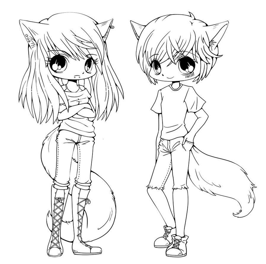 chibi anime coloring pages free printable chibi coloring pages chibi anime coloring pages